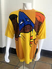Men's Platinum Fubu Yellow Crewneck Knit