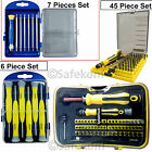 Mobile Repair Screwdriver Socket Set Hex Star Pozi Cross Tweezers Phillips Tools