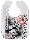 "Alice Wonderland Bib ""alice & Pig"" Adventures Tea Party Boy Girl Gift"