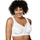 2 Playtex 18 Hour 'Easier On' Front-Close Wirefree Bras with Flex Back 4695B