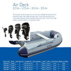 SUN SPORT AD 300 Boat Motor Options 2.5-8 hp Package Inflatable Rib Air Talamex