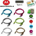 Braided USB Type-C USB-C Charger Charging Cable for Motorola Moto Z2 Force/Play
