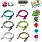 Braided Rope USB 3.1 Type-C Data Sync Charger Charging Cable Cord For LG G6