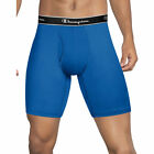 4 Champion Men's Tech Performance Long Leg Boxer Briefs TPLBBK
