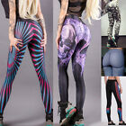 Women High Waisted Yoga Fitness Leggings Running Gym Stretchy Pants Trousers