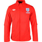 Mens Umbro Mesh Lined England Training Jacket Full Zip Sports Track Top Size