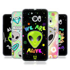 HEAD CASE DESIGNS ALIEN EMOJI SOFT GEL CASE FOR HTC PHONES 1