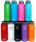 40oz Hydro Flask Vacuum Insulated Stainless Steel Water Bottle Wide Mouth
