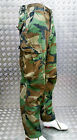 Genuine US Ripstop 6 Pocket Combat / Field Trousers Woodland Camo - All Sizes