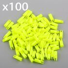 100Pcs Archery Hunting Plastic Arrow For OD 6/7/8mm Shaft Tail Replace Nock
