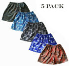 5 Pack Mens Thai Silk Boxer Shorts / Underwear Paisley Loose Boxers M L XL 2XL
