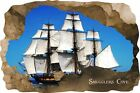 Huge 3D Smugglers Cove Pirate Cave View Wall Stickers Mural  Decal Film 36