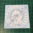 Powered By Liberal Tears Snowflake Safety Pin Second Amendment 2A Decal Sticker