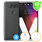 "Lg V20 H910 At&t + Unlocked Silver Gray 4g Lte 64gb 5.7"" 4gb Ram Smartphone Used"