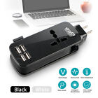 portable travel power strip 4 port smart