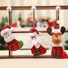 Christams Tree Stockings Party Pendant Santa Claus Socks Hanging Decor Ornament