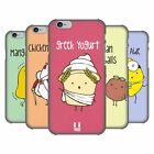 HEAD CASE DESIGNS YUMMY DOODLE HARD BACK CASE FOR APPLE iPHONE PHONES