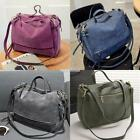 Women Shoulder Bags Synthetic Leather Handbag Vintage Style Motorcycle S0BZ