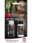 Liquid Latex & Fake Blood (1oz Bottle Each) Halloween Fancy Dress Make Up