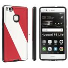 ShockProof Resistant Phone Case [Red Neon Flames] For Huawei P9 Lite