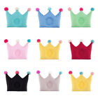 Baby Cotton Crown Shaped Pillow Anti Migraine Newborn Babies Baby Pillows Lovely