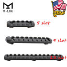 US M-LOK Handguard 5/9/13 Slots Aluminum Segment Picatinny/Weaver Section Rail
