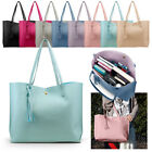 Women Synthetic Leather Handbag Shoulder Ladies Purse Messenger Satchel Tote Bag image