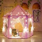 Girls Cute Princess Castle Playhouse Children Kids Play Tent Outdoor Toys Gift