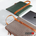 13.3'' Leather Laptop Carrying Bag Sleeve Case For MacBook Pro 13 MacBook Air 13