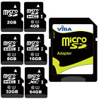 High Speed Micro SD SDHC SDXC Memory Card Class 10 UHS 1 For Sony Mobile Phone