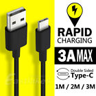 USB Type C Data Fast Charging Cable USB-C for Samsung Galaxy S8 S8+ Plus Nexus 6