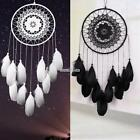Handmade Lace Bead Feather Dream Catcher Large Car Home Wall Hanging A+++