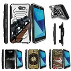 For Samsung Galaxy On7 | J7 Prime | J7 Halo (2017) Clip Holster Case Sniper