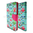 For Apple iPhone 6 6S 5 5S 5C Pu Leather Flip Folio Card Slot Wallet Cover Case