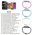 Roud Short Bead Bracelet Type C Micro USB Data Sync Charging Cable For Samsung