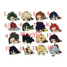 Anime Boku no Hero Academia Izuku Shoto rubber Keychain Key Ring Cosplay