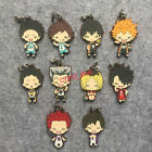 Japan anime haikyuu rubber Keychain Key Ring Rare cosplay limited New