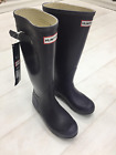 WOMENS LADIES ORIGINAL HUNTER TALL WELLINGTON PURPLE RAIN RUBBER BOOTS WELLIES