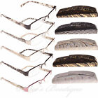 I Catchers Reading Glasses Ladies Swirl Spes Black & White +2 ET1077 Empress
