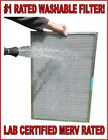 #1 RATED WASHABLE PERMANENT ELECTROSTATIC FURNACE AC AIR FILTER - Lab Certified