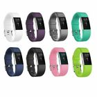 For Fitbit Charge 2 Strap Replacement Bands Silicone Fitness Wristband