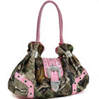 Women Handbags Camouflage Shoulder Bags Large Hobo Purse with Divider