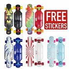 "Limitless 27"" Mini Longboard - All Colours - Floral/Rising Sun/Wave/Tie Dye/Zion"