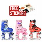 Velocity Cub Adjustable Roller Skates - FREE STICKERS