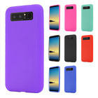 For Samsung Galaxy Note 8 Rugged Rubber SILICONE Gel Skin Case + Screen Guard