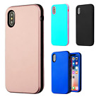 For Apple iPhone X IMPACT Verge HYBRID Case Skin Phone Cover + Screen Guard
