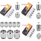 Lot SMOK TFV8 Baby Coils For TFV8 V8-X4 Q2 T8 Baby Beast Tank Replacement Head