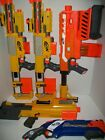 Mixed lot of 5 Nerf N-Strike Dart Blasters, Demolisher & More