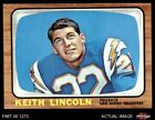 1966 Topps #127 Keith Lincoln Chargers NM/MT $56.5 USD
