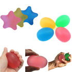 Silicone Vent Relief Ball Egg/Star Shaped Squeeze Massage Ball Finger Exercise